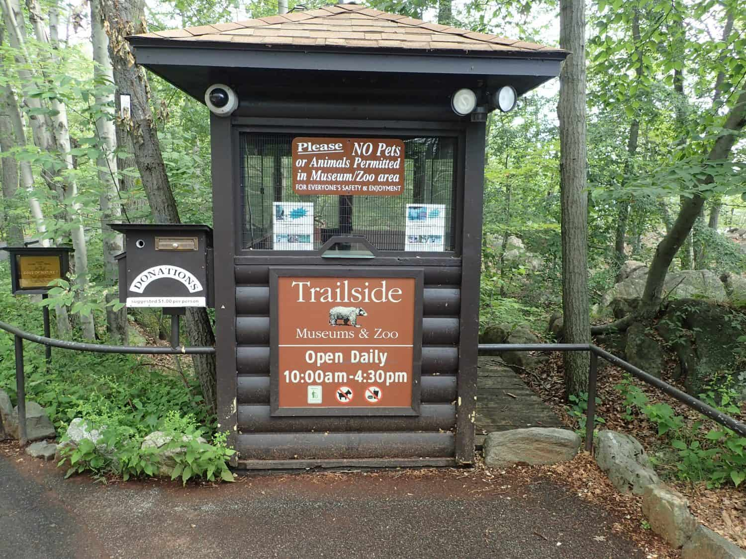 Entrance of the Trail Side Zoo