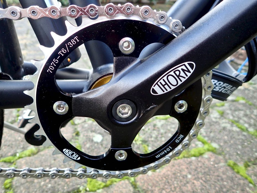 Thorn Nomad MK2 - The chainring