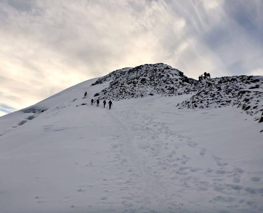 View towards the summit of the Similaun