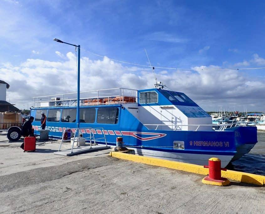 Isla Holbox - Ferry to Holbox Island