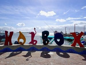 Isla Holbox - harbour on Isla Holbox