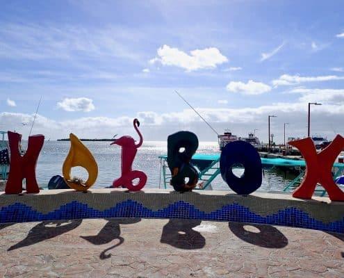 Isla Holbox - harbour on Isla Holbox