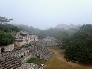 The Mayan ruins of Ek Balam