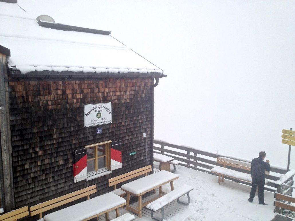 The Memminger hut - 2242m