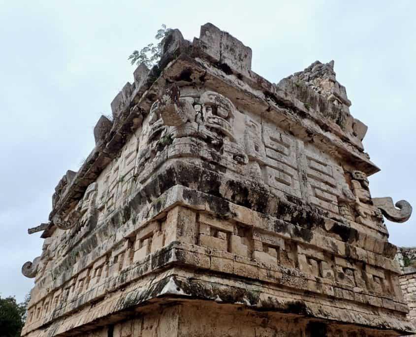 Chichén Itzá - Stone carvings