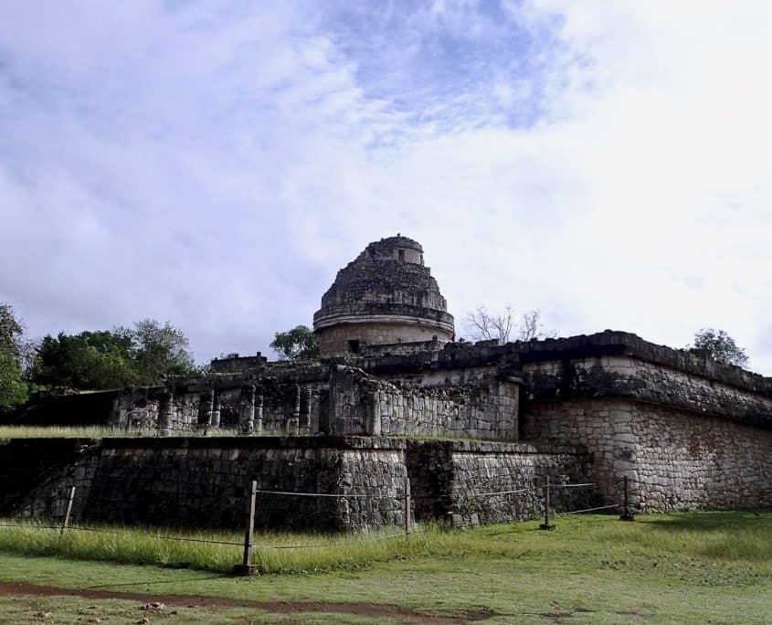 The obervatory of Chichén Itzá