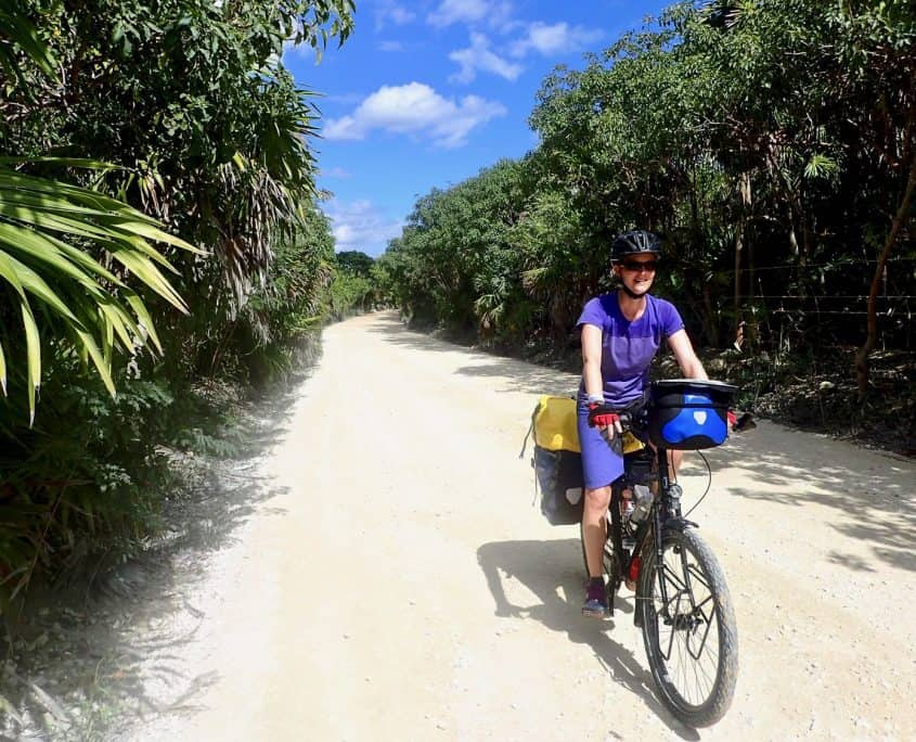 Bicycle Touring through Sian Ka'an Biosphere Reserve
