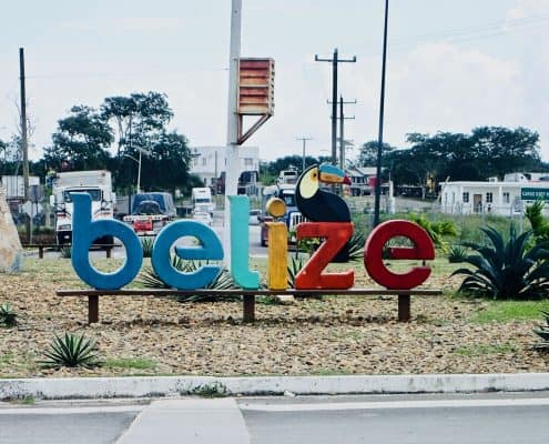 7 days bicycle touring through Belize