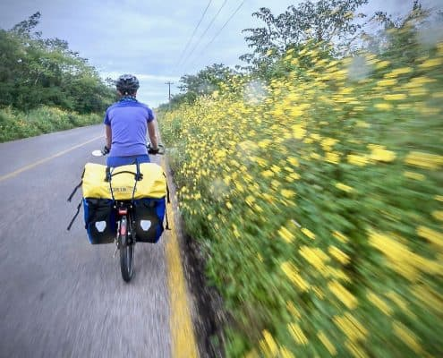Bicycle Touring Yucatán Mexico