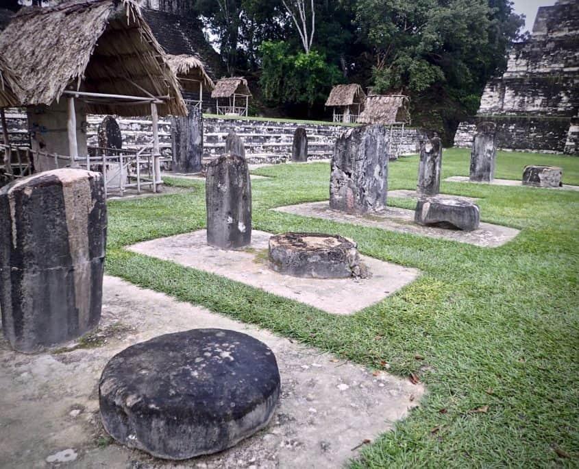Tikal - some stones of Tikal
