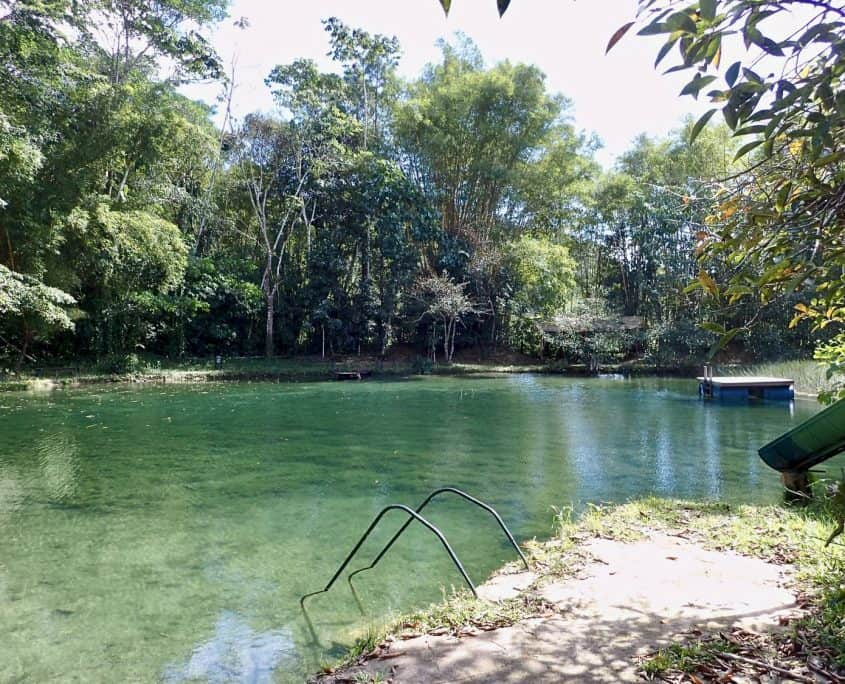 Finca Ixobel - Nice natural lagoon for a swim!