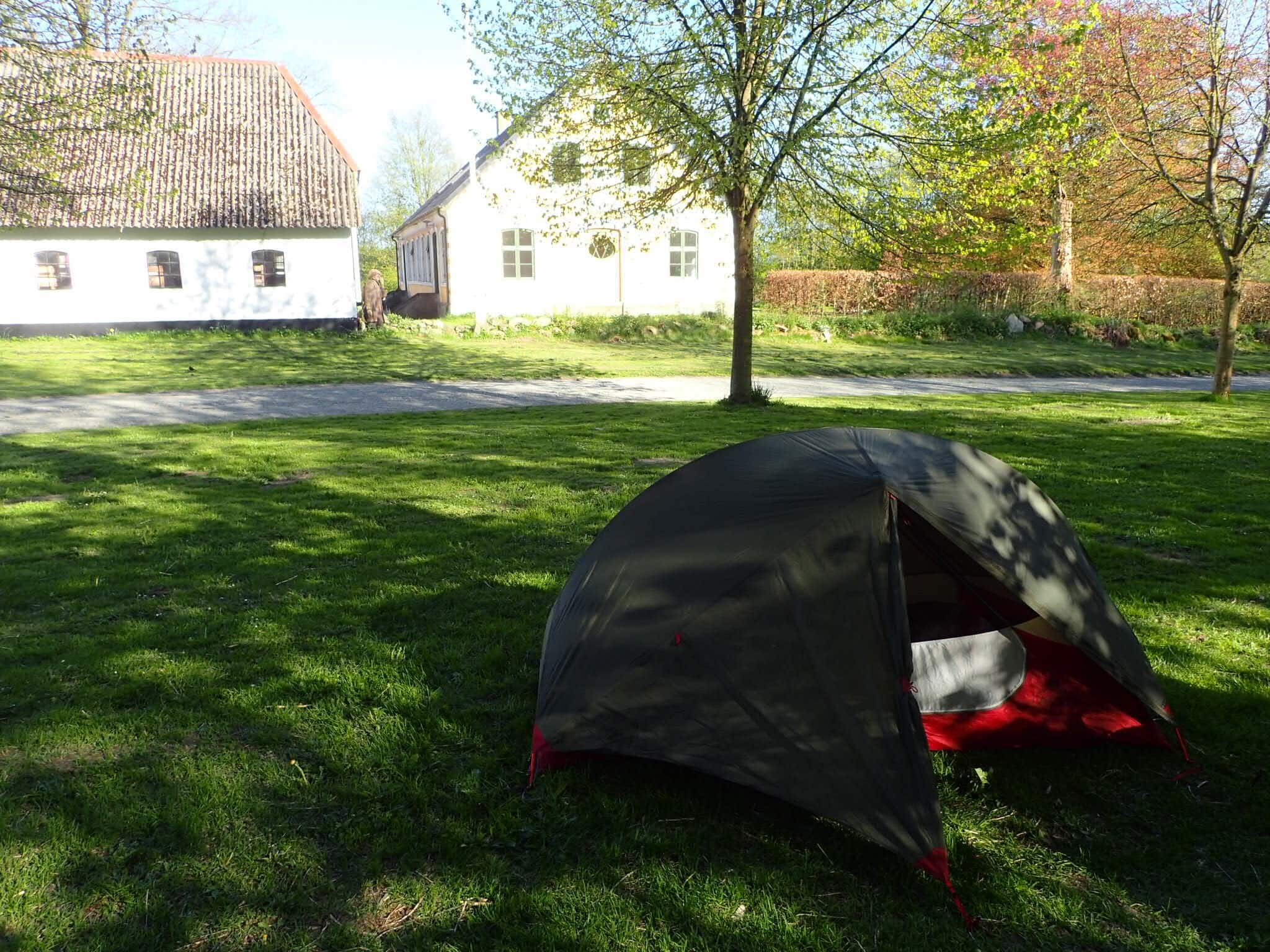 Campsite at Immervad Bro