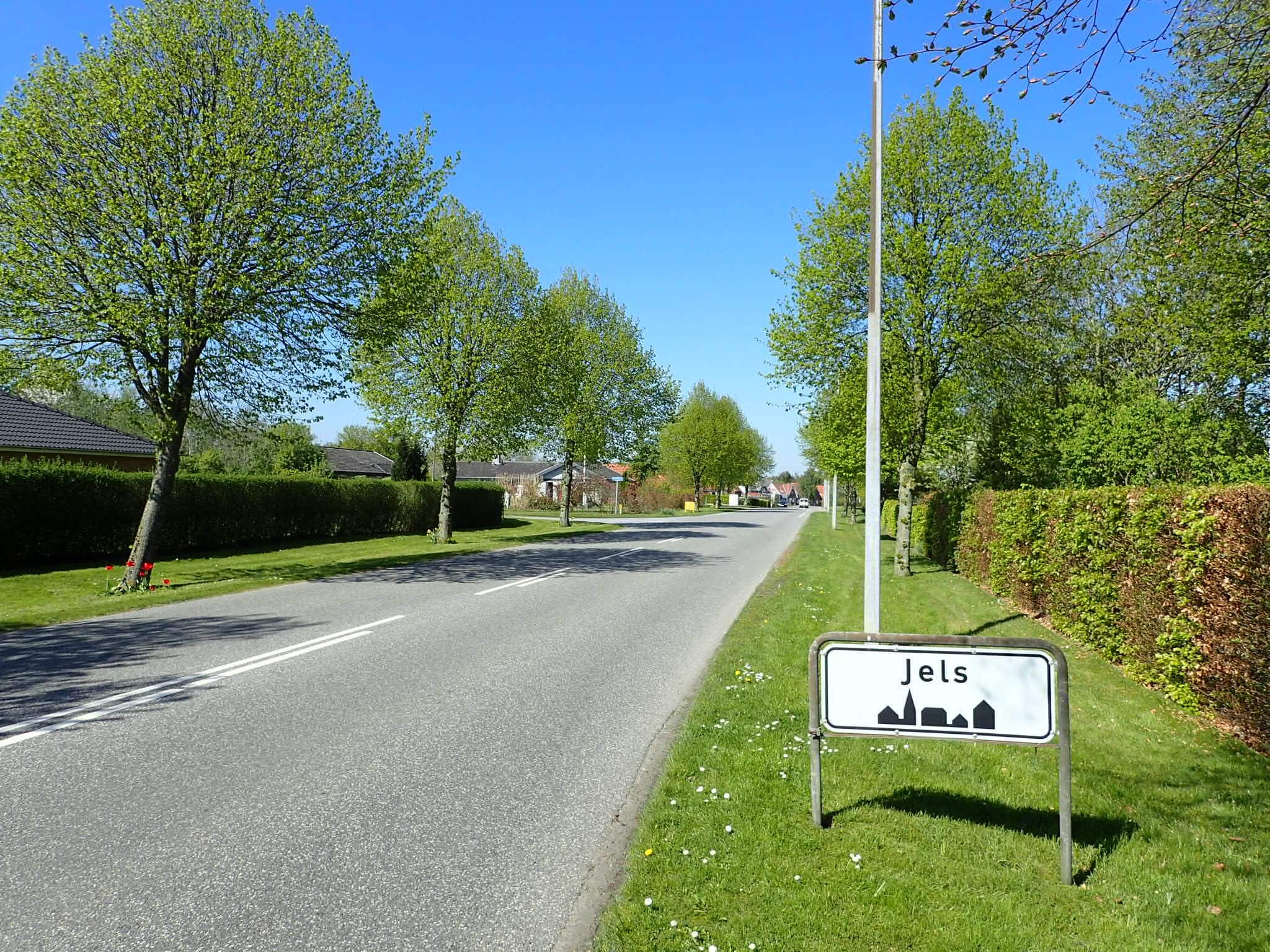 The small town of Jels