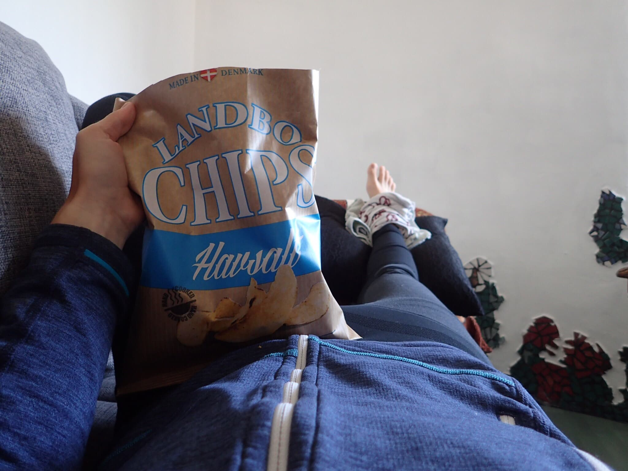 Chips made in Denmark - not too bad!