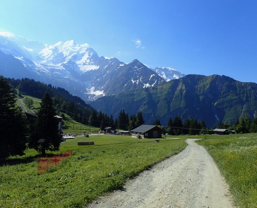TMB day 1 - Les Houches to Les Contamines via Col de Tricot