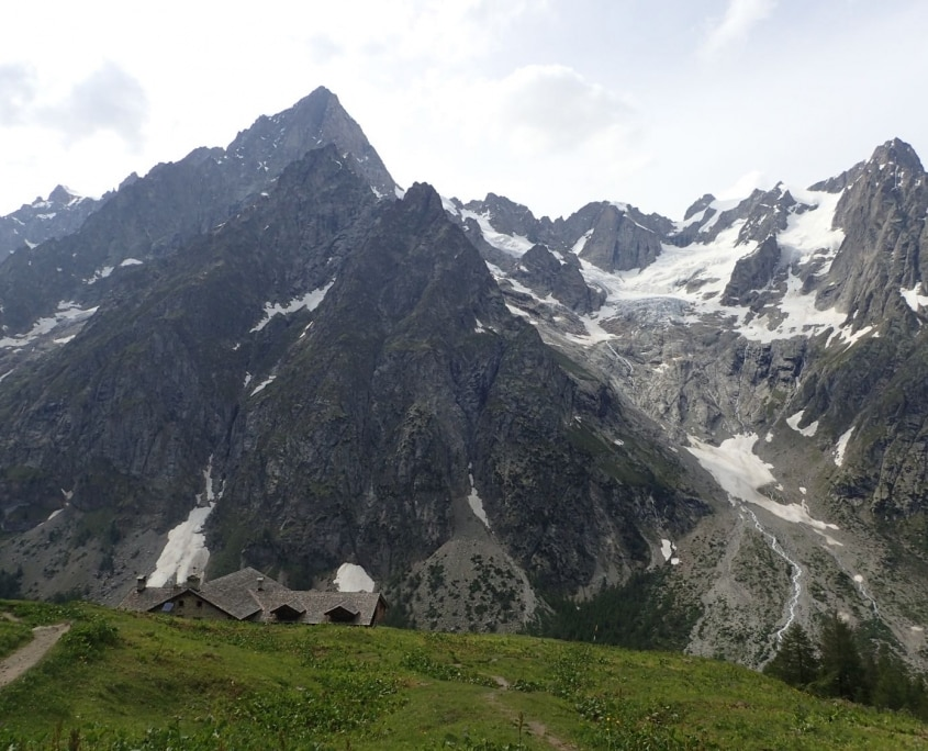 TMB day 5 - Courmayeur to Chalet Val Ferret via Monte de la Saxe