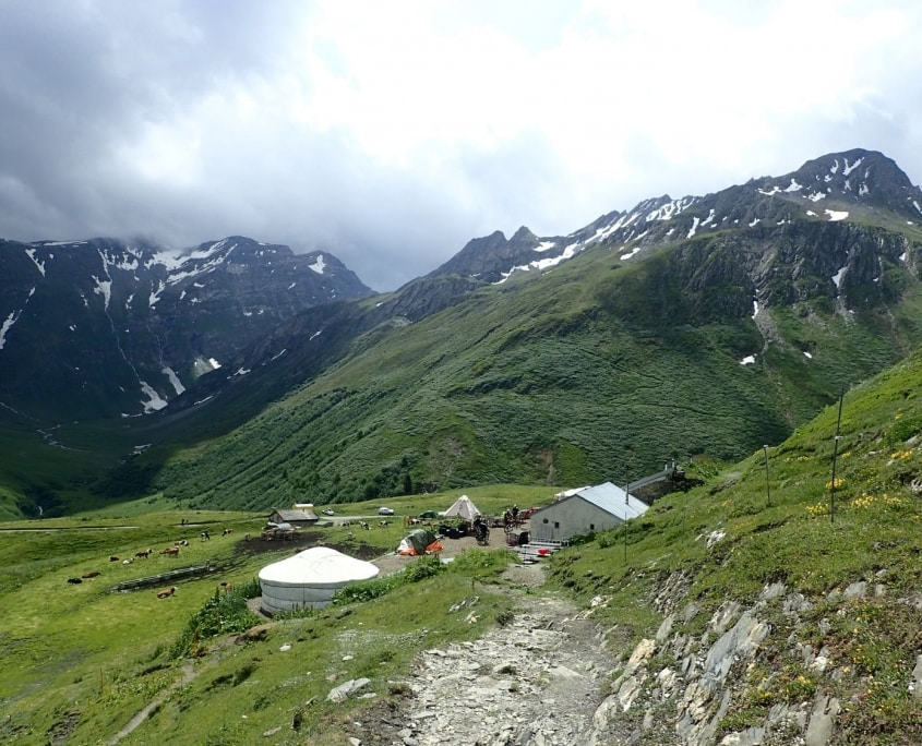 TMB day 6 - Chalet Val Ferret to La Fouly