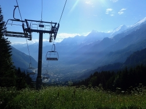 TMB day 1 Les Houches to Les Contamines