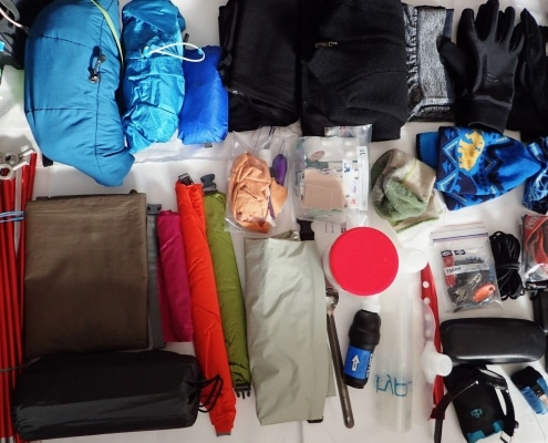 PNT hiking gear list